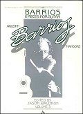 barrios Vol 3 - 6 Pieces for guitar